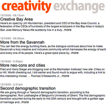 Creativity Exchange