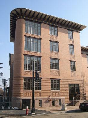 Humanistic contemporary architecture